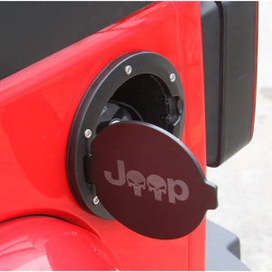 ABS Fuel Tank Cover For Jeep Wrangler JK 07-17 - Dashery Box