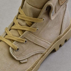 Men Boots Lace Up Men's boots Dashery Box Khaki 10