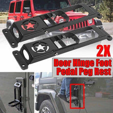 Load image into Gallery viewer, High Quality Car Exterior Door Hinge Folding Foot Pedal For Jeep For Wrangler Jeep accessories Dashery Box 2pcs