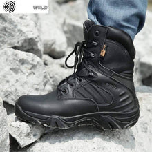 Load image into Gallery viewer, Mens Fashion Motorcycle boots Men's boots Dashery Box