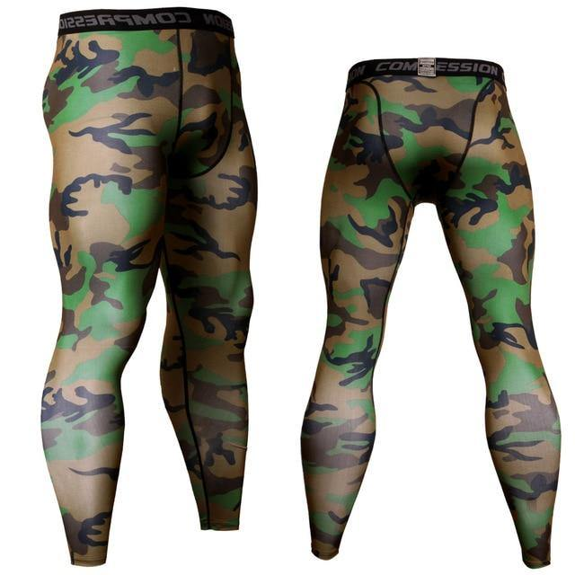 Compression Pants Running Pants Men Training Fitness Sports Leggings Gym Jogging Pants Male Sportswear Yoga Bottoms Dashery Box 1 S