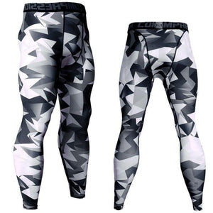 Compression Pants Running Pants Men Training Fitness Sports Leggings Gym Jogging Pants Male Sportswear Yoga Bottoms Dashery Box 13 S