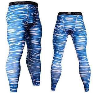 Compression Pants Running Pants Men Training Fitness Sports Leggings Gym Jogging Pants Male Sportswear Yoga Bottoms Dashery Box 16 S