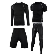 Load image into Gallery viewer, Men Sportswear Compression Sport Suits Quick Dry Running Sets Clothes Sports Joggers Training Gym Fitness Tracksuits Running Set Dashery Box