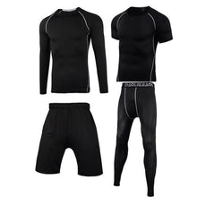 Load image into Gallery viewer, Men Sportswear Compression Sport Suits Quick Dry Running Sets Clothes Sports Joggers Training Gym Fitness Tracksuits Running Set Dashery Box Men sportswear 4-11 2XL