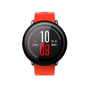 Original Amazfit Pace Smartwatch Amazfit Smart Watch Bluetooth GPS Information Push Heart Rate Intelligent Monitor Smart watch Dashery Box red China