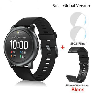 Waterproof Android iOS, Smartwatch Solar smart watch Dashery Box
