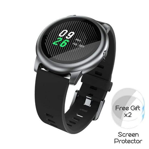 YouPin Haylou Solar Smart Watch LS05 Sport Metal Heart Rate Sleep Monitor IP68 Waterproof iOS Android Global Version for Xiaomi Smart watch Dashery Box