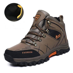 Men's Winter Snow Waterproof Leather Sneakers Men's winter boots Dashery Box