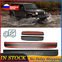 Load image into Gallery viewer, Jeep Wrangler Door Plate Cover Sill Jeep accessories Dashery Box