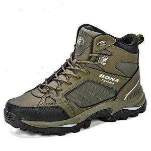 Tactical Leather Boots TheSwirlfie Army Green Black 8