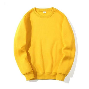 New Spring Autumn Fashion Hoodies TheSwiftzy Yellow S