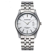 Load image into Gallery viewer, KINGNUOS Luxury Watch TheSwirlfie Silver White