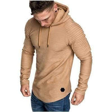 Load image into Gallery viewer, Men's Slim Hoodie TheSwiftzy Khaki M
