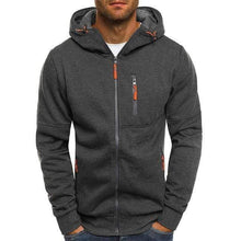 Load image into Gallery viewer, Men's Casual Sports Hoodie TheSwiftzy Dark Grey L