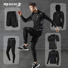 Load image into Gallery viewer, REXCHI 5 Pcs/Set Men's Jogging Sport Wear TheSwiftzy