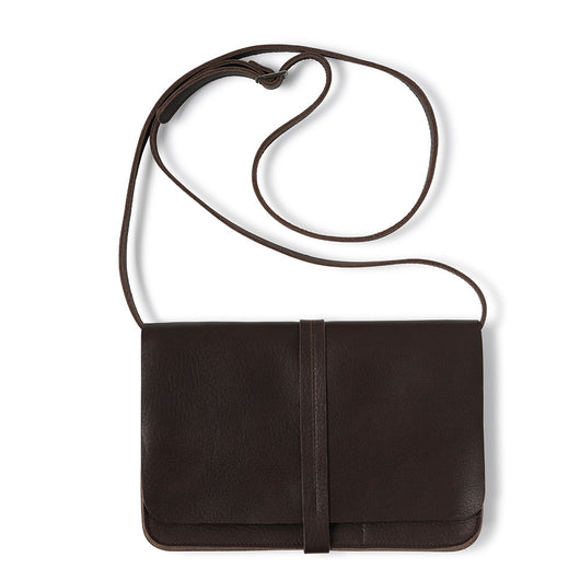 Bag, Off Duty, Dark Brown used look
