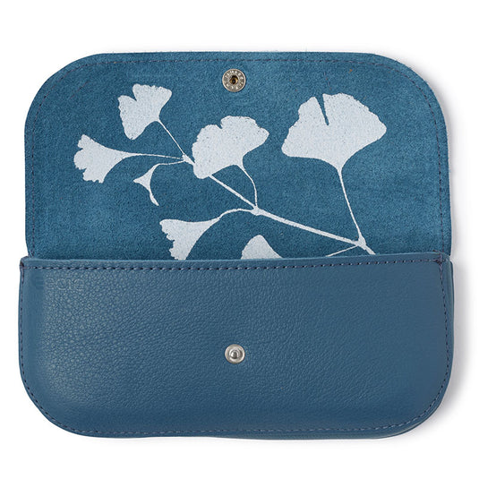 Sunglass case, Sunny Greetings, Faded Blue