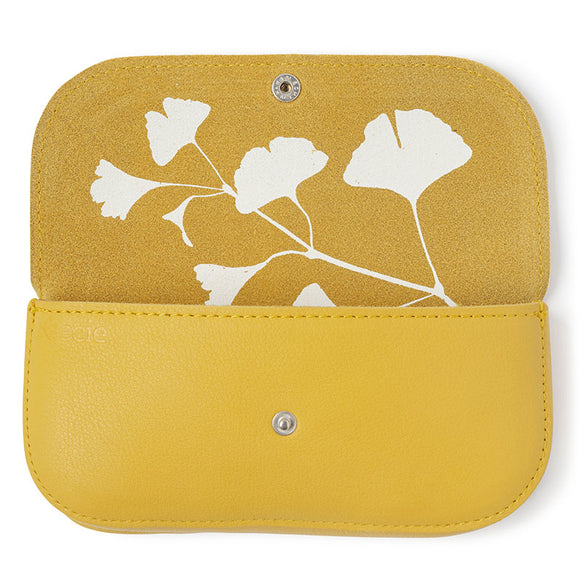Sunglass case, Sunny Greetings, Yellow