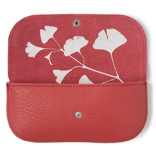 Sunglass case, Sunny Greetings, Coral