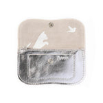Wallet, Cat Chase Small, Silver