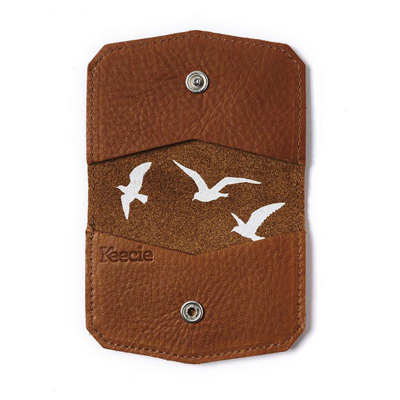 Card Holder, Wild Card, Cognac used look