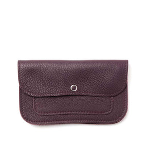 Wallet, Cat Chase Medium, Aubergine