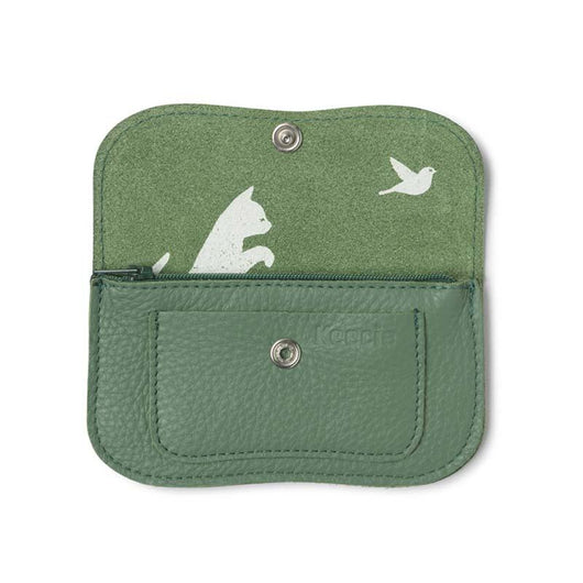 Wallet, Cat Chase Small, Forest