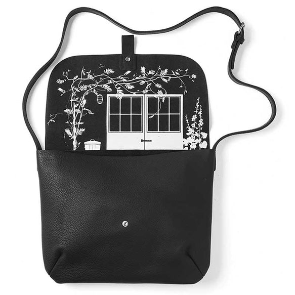 Shoulder bag, Back Yard, Black