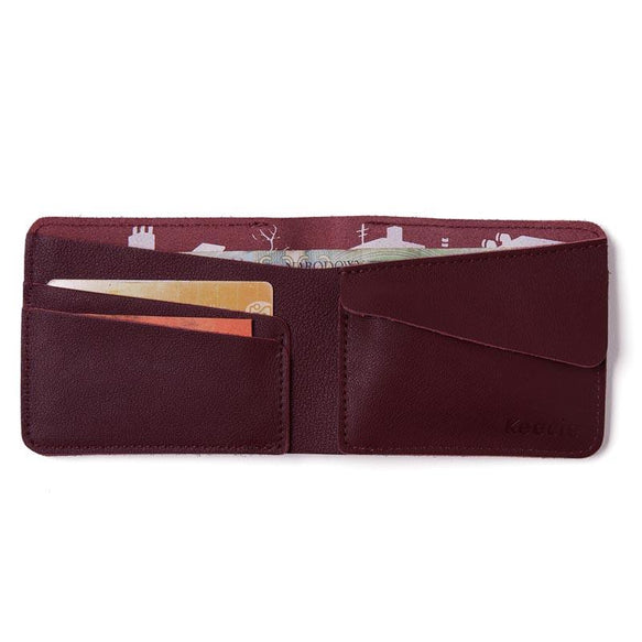 Wallet, Small Fortune, Aubergine