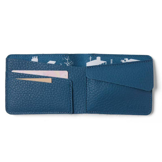 Wallet, Small Fortune, Faded Blue