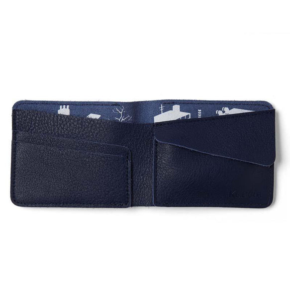 Wallet, Small Fortune, Ink Blue
