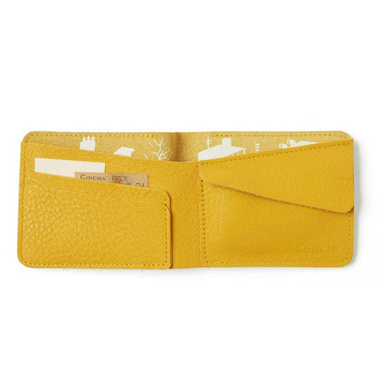 Wallet, Small Fortune, Yellow