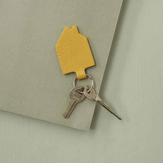 Keyring, Good House Keeper, Yellow