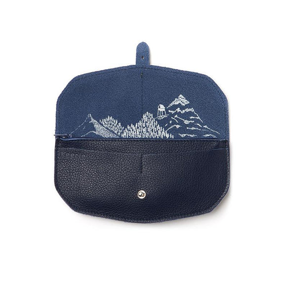 Wallet, Move Mountains, Ink Blue