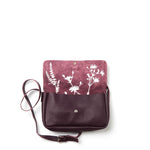 Bag, Picking Flowers Medium, Aubergine