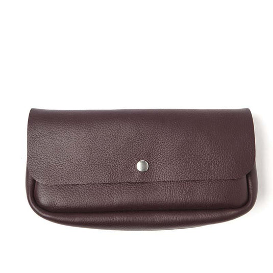 Toiletries bag, Time Flies, Aubergine