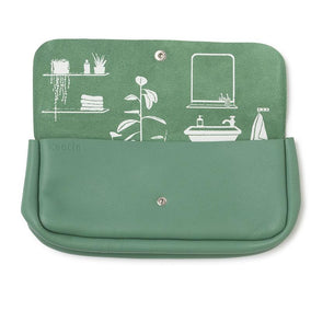 Toiletries bag, Time Flies, Forest