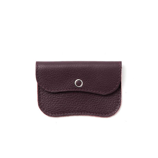 Wallet, Mini Me, Aubergine