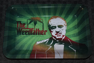 The Weedfather Rolling Tray