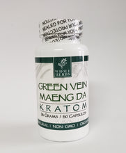 Load image into Gallery viewer, Whole Herbs Kratom Capsules
