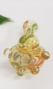 Fumed Inner Swirl Glass Pipe