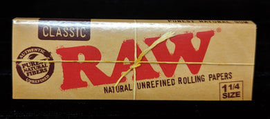 Classic RAW 1 1/4 Papers