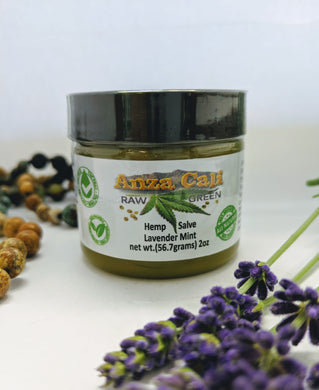 Lavender Mint Hemp Salve 2000MG