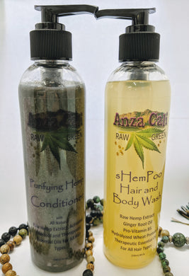Hemp Shampoo and Conditioner - Anza Cali