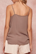 Load image into Gallery viewer, Dusty Rose Lace Tank