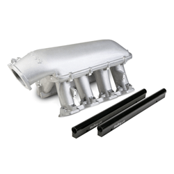 Holley EFI Hi-Ram Intake, LS1/LS2/LS6 Cathedral Port EFI for 1 x 92MM Throttle Body - MailOrder Tuner