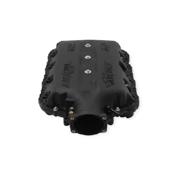 MSD 27003 Black Lettering Atomic AirForce Intake Manifold, 2014+ 6.2L LT1 - MailOrder Tuner
