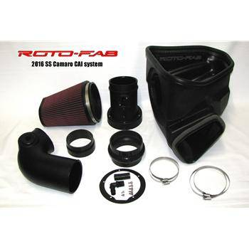 Roto-fab 2016-19 Camaro SS Cold Air Intake System with Dry Filter and Sound Tube Delete - MailOrder Tuner