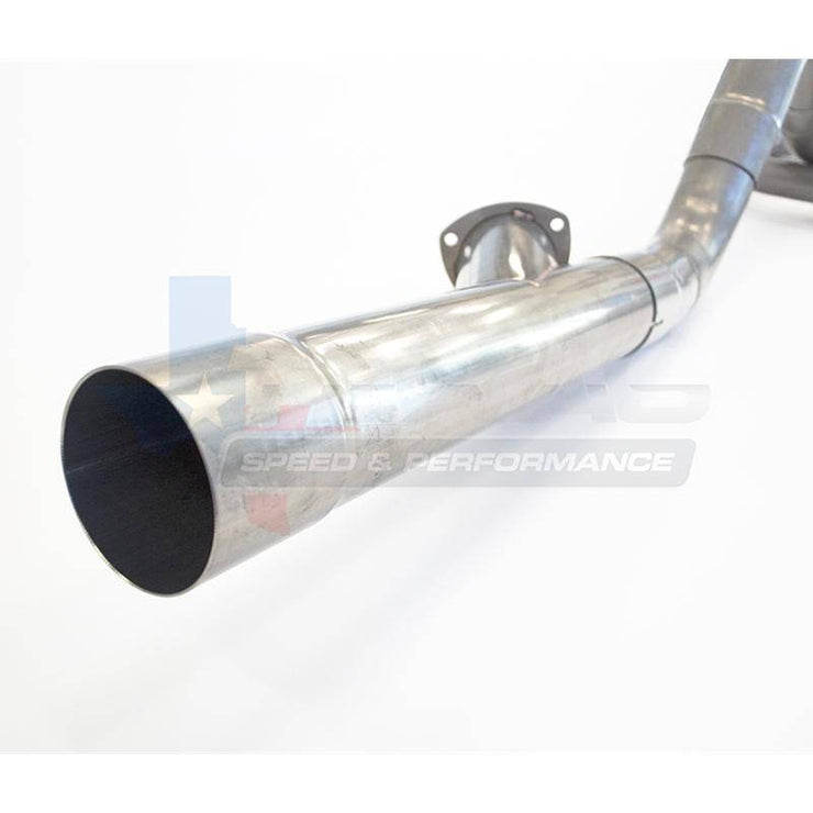 "TSP 98-02 LS1 F-Body 3-1/2"" Cat-Back Exhaust System With Integrated Exhaust Cutout - 304 Stainless Steel"